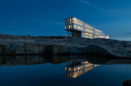 Fogo Island Inn, Luxushotel, Neufundland, Kanada