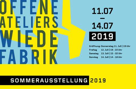 Wiede-Fabrik – Offene Ateliers Sommer 2019